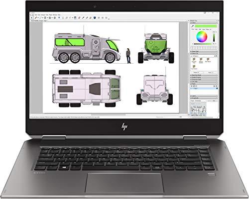 HP ZBook Studio x360 G5 i9 15.6 inch IPS SSD Convertible Quadro Silver