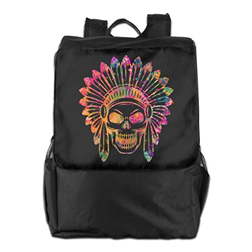 Donna School Neon College Skull Laptop Uomo Aztec Hgfdhfgjrfj Travel Bookbag Backpack AgZxwwqt7