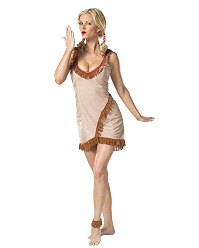 Sexy Tribal Tease Cosume Indian Native American Pocahantas Costume Sizes: Medium