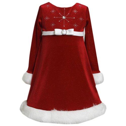 Santa Dress for Toddler Girls