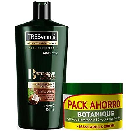 TRESemmé Pack con Champú Aceite de Coco y Mascarilla Botanique: Amazon.es: Belleza