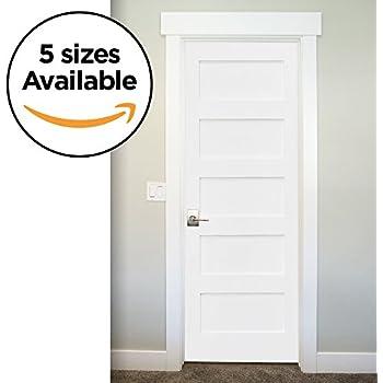 Amazon 5 Panel Door White Primed Shaker 80 In X 1 38 In