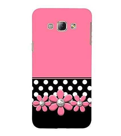 competitive price e979c 501ed Fiobs Designer Back Case Cover for Samsung Galaxy A8 (2015)