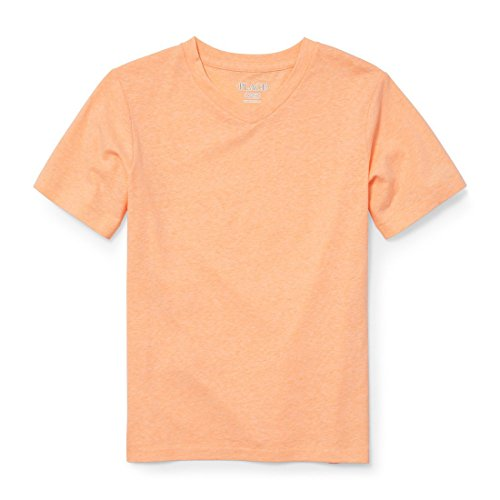 The Children's Place Big Boys' Short Sleeve Fashion T-Shirt, Peachy 2436, M (7/8) -