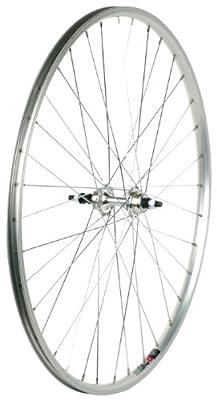 Sta-Tru Silver Alloy Road 6-7 Speed Freewheel Hub Rear Wheel (700X25)