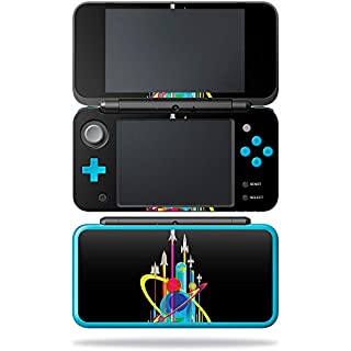 MightySkins Skin Compatible with Nintendo New 2DS XL - Space Poster | Protective, Durable, and Unique Vinyl Decal wrap Cover | Easy to Apply, Remove, and Change Styles | Made in The USA