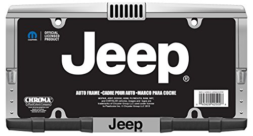 Jeep License Plate Frame ()
