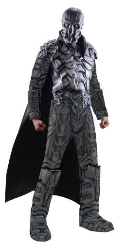 Rubie's Costume Superman Man Of Steel Deluxe Adult Muscle Chest General Zod, Multi-Colored, Medium (Man Of Steel Zod Halloween Costume)