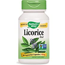 Nature's Way Licorice Root, 450mg, 100 Capsules