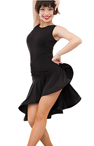 skirt Black skirt Dress Sexy Cha Waltz Rumba dress dress skirts Cha Latin Ballroom qwq70az
