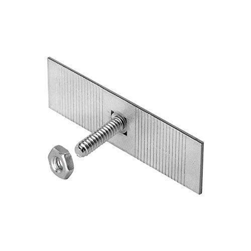 - MACs Auto Parts 42-56868 Universal Moulding Clip Kit - Snap Off Style - 2-1/2 Wide, 10-24 X 3/4 Stud - 10 Pieces
