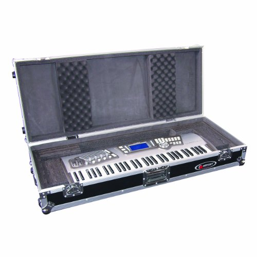Odyssey FZKB61W Flight Zone Universal 61 Note Keyboard Ata Case With Wheels -