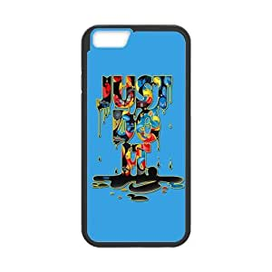 Just Do It Colorful Cell Phone Hard Case for iPhone 6(4.7) Plastic and TPU (Laser Technology) wangjiang maoyi
