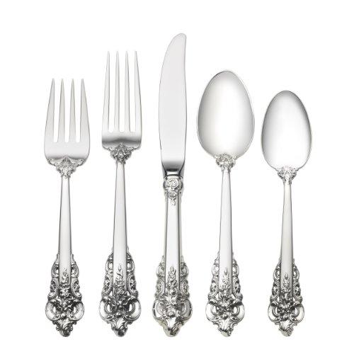 Wallace Grande Baroque 66-Piece Sterling Flatware Set (Dinner (Grande Baroque 66 Piece)
