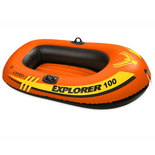 Intex Explorer 100, 1-Person Inflatable Boat (Float Canoe)