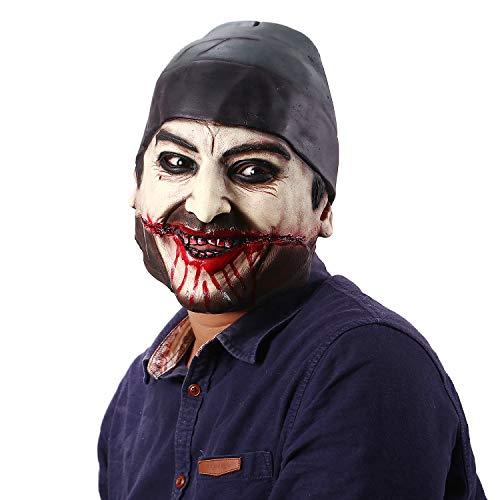 (Jiu Ya Da Dui Horror Death Zombie Cosplay Halloween Scary Rotten Bloody Men's)