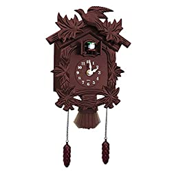 Carol Wright Gifts Newhall Old World Cuckoo Clock, Brown