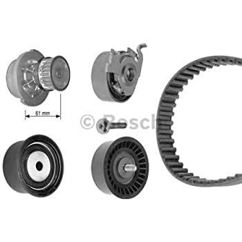 OPEL Zafira Astra G BOSCH Timing Belt Kit + Water Pump 1.4-1.6L 1998-2005