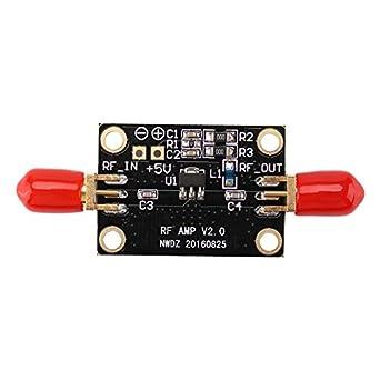 Amazon com: RF Amplifier, Asixx LNA 0 05-4GHz NF=0 6dB Low