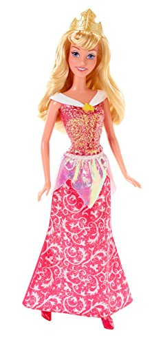 Mattel Disney Sparkle Princess Aurora Sleeping Beauty Doll