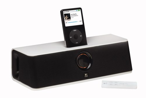 Logitech Pure Fi Mobile - Logitech Pure-Fi Express Portable Stereo Speakers for ipod