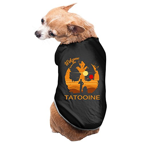 Physics And Star Wars Welcome To Tatooine Black Puppy Clothes Chic Style Dog - Jumpsuit Chelsea