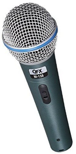 Qfx - Dynamic Vocal Microphone - Gray