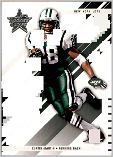 2004 Leaf Rookies and Stars #64 Curtis Martin NEW YORK JETS PITTSBURGH PANTHERS - York Martin Jets New Curtis
