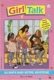 book cover of Allison\'s Baby-sitting Adventure