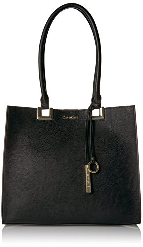 Calvin Klein N/s Novelty Smooth Boxed Tote by Calvin Klein
