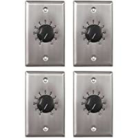 Atlas Sound AT10 10 Watt Stainless Steel Attentuator, Set of Four