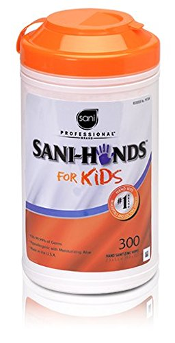 Sani Professional Sani-Hands for Kids, 5 x 7 1/2, White - Includes six per case.