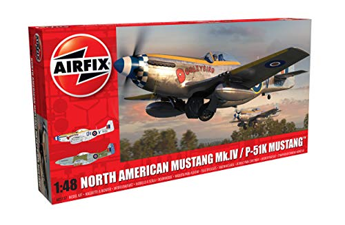 Airfix North American MK IV/P-51K Mustang 1:48 WWII for sale  Delivered anywhere in USA