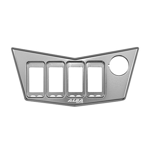 Polaris RZR 900 XP4 Switch Panel 4 hole silver (all years)