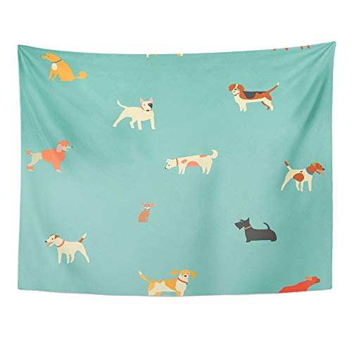 l Hanging White Animal Puppies Dog in Cute German Shepherd Beagle Bulldog Cartoon 50