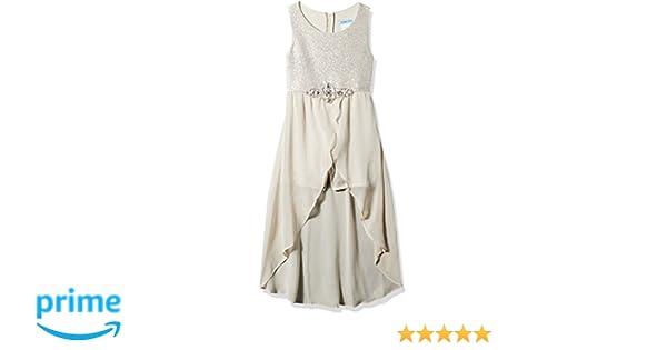 20c14cd63f7c Amazon.com: Tween Diva Girls' Big High Low Special Occasion Romper: Clothing