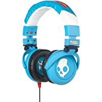 G.I.- Micd / dB Over Ear Headphones in Shoe Blue by SkullCandy