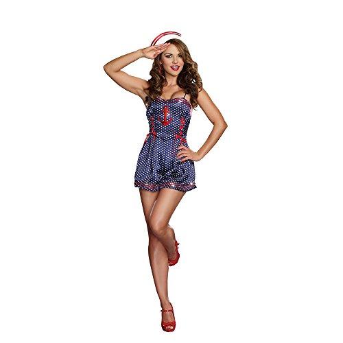 Maritime Maiden Bodysuit Romper Costume product image