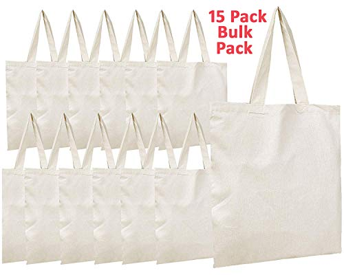 (Simpli-Magic 79163 Canvas Tote Bags, 11