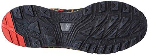 Asics Uomo Gel-sonoma 3 G-tx Trainer, Nero Giallo (vermilion / Nero / Giallo Sicurezza)