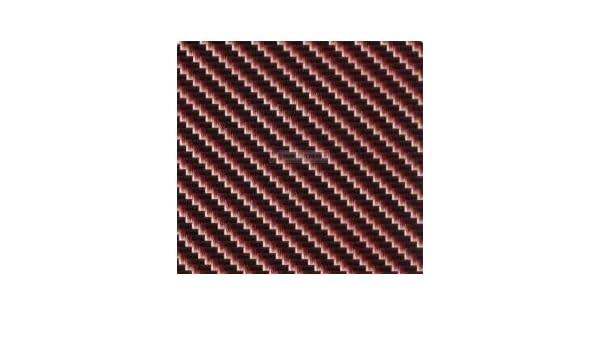 "Hydrographics Film Giga Red Carbon Fiber 20/"" x 6.5/'"