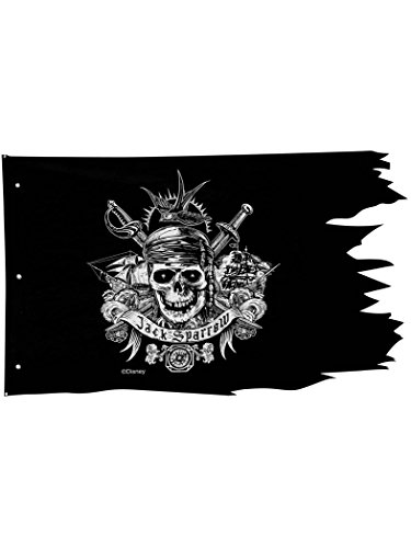 Disney Pirates of the Caribbean Pirate Flag Wall Decoration ()
