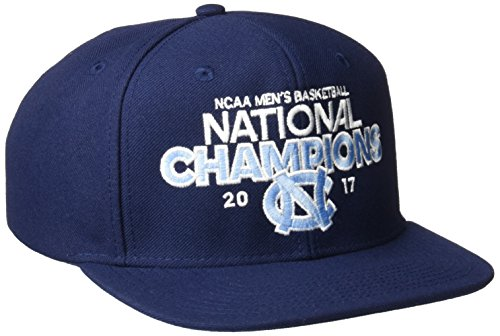 adidas NCAA North Carolina Tar Heels Men's Basketball Champion Hat, One Size, Navy