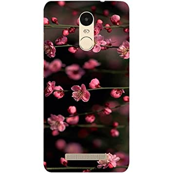 san francisco 16ae2 7176c Casotec Pink Flowers Design Hard Back Case Cover for Xiaomi Redmi Note 3