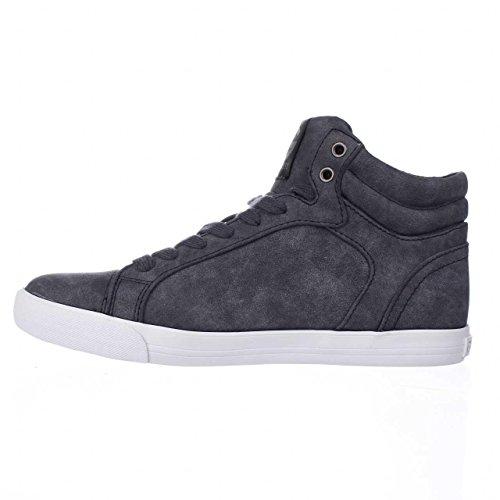 G Door Guess Womens Olisa Hoogte Top Lace Up Mode Sneakers Blauw / Medium
