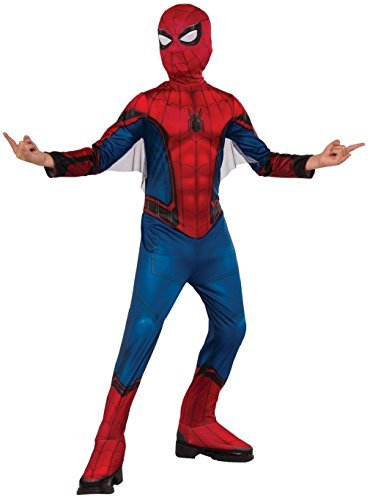 Rubie's Costume Spider-Man Homecoming Child's Costume, Multicolor, (Spiderman Costume For 5 Year Old)
