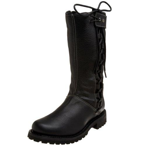 Melia-boot Harley-davidson Nera