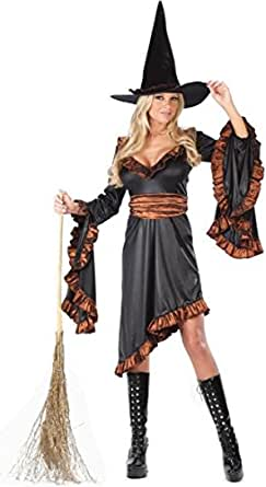 Witch Ruffle Adult - Small/Medium