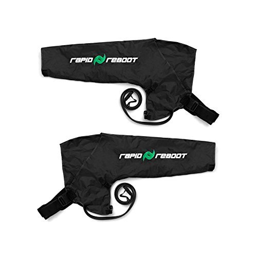 Rapid Reboot Recovery Arm System: Compression Arms, Pump, and Case. Sequential, dynamic air compression for massage therapy, improved circulation and faster workout recovery for all athletes (Long) by Rapid Reboot (Image #3)