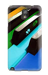Premium Music Art Heavy-duty Protection Case For Galaxy Note 3